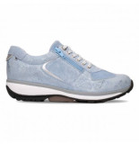 Xsensible Sneaker women chelsea 30101.2 lake blue metal