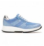 Xsensible Sneaker women tokio 30201.2 lake blue metal
