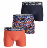 Björn Borg 3-pack boxers camo rose