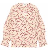 Ba&sh Clea blouse ecru
