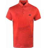 Gabbiano Polo shirt rusty red