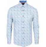 Gabbiano Overhemd lange mouw white