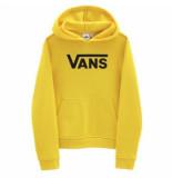 Vans Trui girls flying v hoodie cyber yellow