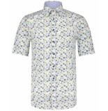 Scotland Blue Overhemd 21107wo17sb