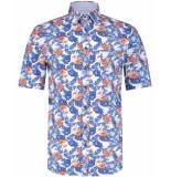 Scotland Blue Overhemd 21107wo28sb