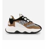 Nikkie Blix sneaker n9-754 2102 beige/black
