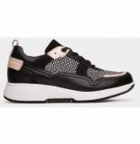 Xsensible Sneaker women sofia 30206.2 black / white