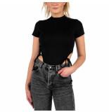 LA Sisters Side string bodysuit