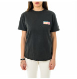 Tommy Hilfiger T-shirt donna tommy jeans tjw relaxed miami back print tee dw0dw09816.bds