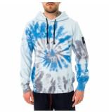 Shoe Felpa uomo tie dye hooded sweatshirt cloudt42.bl