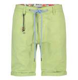 A Fish Named Fred 22.03.224 bermuda bright green peached -