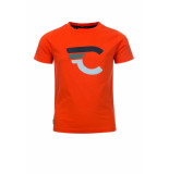Common Heroes T-shirt badstof logo voor jongens in de kleur