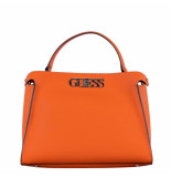 Guess Uptown chic lrg turnlock satchel