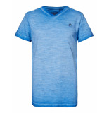 Petrol Industries M-1010-tsv604 t-shirt v-neck 5000 electric blue -