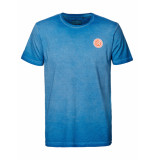 Petrol Industries M-1010-tsr687 t-shirt r-neck 5000 electric blue -