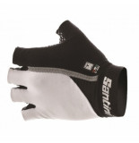Santini Fietshandschoenen mania gel summer gloves white