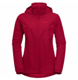 Jack Wolfskin Jas women stormy point jacket scarlet