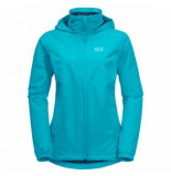Jack Wolfskin Jas women stormy point jacket dark aqua