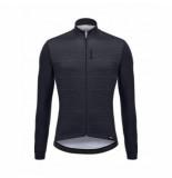 Santini Fietsshirt men classe longsleeve jersey black