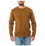Lyle and Scott Felpa uomo crew neck sweatshirt ml424vtr.w281