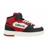 Levi's Sneakers block mid vel k virv0012t / rood