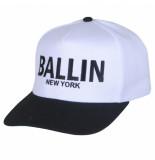 Ballin New York Ballin snapback cap unisex wit zwart