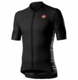 Castelli Fietsshirt men entrata v jersey light black