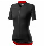 Castelli Fietsshirt women anima 3 jersey light black red