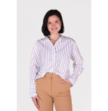 Frame Blouse clean collared lwsh2041 wit
