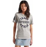 Superdry Collegiate athletic union tee grey marl
