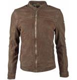 Gipsy Suéde jacket gbryker lnuv olive