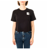 The North Face T-shirt donna w cropped fine tee nf0a4sy9lk3
