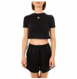 Adidas T-shirt donna crop top gn2802