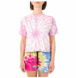 Shoe T-shirt donna tie dye short sleeves t-shirt tessat4262.pk