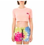 Shoe T-shirt donna crop short sleeve t-shirt trishd41.crl