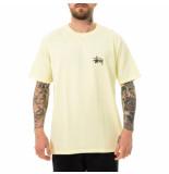 Stussy T-shirt uomo basic tee pale 1904649.