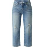 MAC Rich culotte greyish random blue jeans