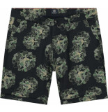 Dstrezzed Charlie shorts camo flower linen
