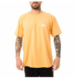 Stussy T-shirt uomo basic tee peach 1904649.peach