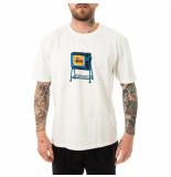 Stussy T-shirt uomo rolling tv pig. dyed tee natural 1904672.natl