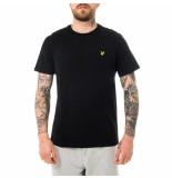 Lyle and Scott T-shirt uomo plain t-shirt jet nero ts400vog.z865