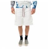 Shoe Bermuda uomo gabardine bermuda cargo shorts nigel85105.wht