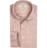 Thomas Maine Heren overhemd linnen kent tailored fit