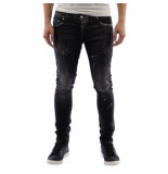 My Brand Denim black distressed jeans