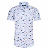 Ferlucci heren korte mouw overhemd calabria trendy design -