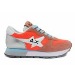 SUN68 Sneakers ally star basic corallo