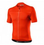 Castelli Fietsshirt men classifica jersey brilliant orange
