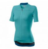Castelli Fietsshirt women anima 3 jersey celeste marine blue