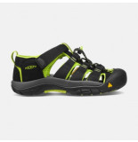 Keen Sandaal younger kids newport h2 black lime green