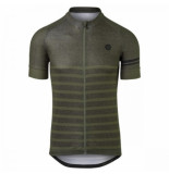 AGU Fietsshirt men melange essential army green